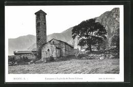 AK Santa Coloma, Campana O Esglesia De Santa Coloma - Andorra