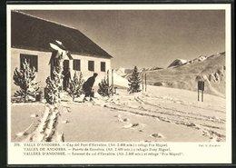 AK Vallees D`Andorre, Sommet Du Col D`Envalira Et Refuge Fra Miquel - Andorra