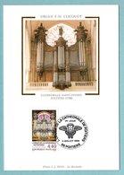 Carte Maximum 1994  - L'Orgue De La Cathédrale De Poitiers - YT 2890 - 86 Poitiers - 1990-99