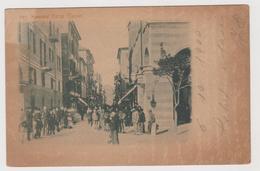 LA SPEZIA , Corso Cavour  - F.p. -  Fine '1800 - La Spezia