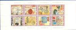 Norway, Norge 1995 350 Year Norwegian Post Booklet MNH Missing Stamp Image On 7th Stamp - Errori Sui Francobolli