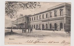 LA SPEZIA , Stazione  - F.p. -  Fine '1800 - La Spezia
