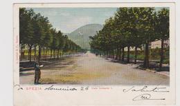 LA SPEZIA , Viale Umberto I°  - F.p. -  Primi '1900 - La Spezia
