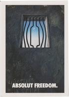 "CARTOLINA - SERIE ABSOLUT VODKA COLLECTION N°262- PROMOCARD 4639 - ""ABSOLUT FREEDOM"" - Werbepostkarten"