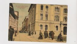 LA SPEZIA , Palazzo Municipale E Via Cavour  - F.p. -  Anni '1910 - La Spezia