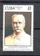 Cuba 1998 Calixto Garcia Iñiguez, Revolutionary Mayor General.  MNH. Scott 3970. Value $2.75 - Cuba