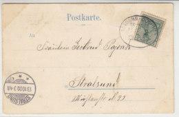 BAHNPOST ALTDAMM-COLBERG ZUG 2 13.10.00 Nach Stralsund - Briefe U. Dokumente