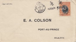 Haiti: 1951 Cap Rafflen To Port Au Prince - Haïti