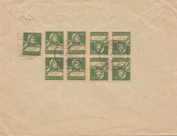 Schweiz: 1926: Luzern Nach Milovice, Einschreiben - Schweiz