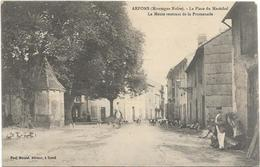4060 - 81  Arfons - Lot De 3 Cartes -place Du Marechal La Meute -  Un Rendez Vous De Chasse - Le Clocher - Autres Communes