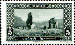 Maroc (Prot.Fr) Poste N** Yv:122 Mi:75 Volubilis Ruines Romaines - Maroc (1891-1956)