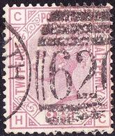 GREAT BRITAIN 1879 QV 2.5d Rosy Mauve SG141 Plate 16 Used - 1840-1901 (Victoria)