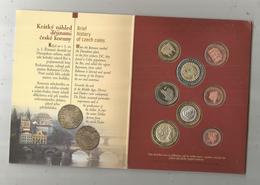 Monnaie , Tchéquie , CZECH REPUBLIC , EURO ZKOUSKA ,2004 , ESSAI ,3 Scans, CLASSEUR DE 8 PIECES - Czech Republic