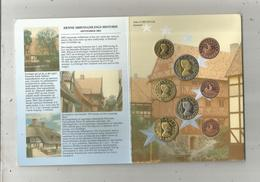 Monnaie , Danemark , DANMARK ,  Euro ,2002 , ESSAI , PROBE , TRIAL ,3 Scans, CLASSEUR DE 8 PIECES - Danemark