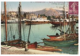 (DEL 841 A) Old Postcard - France - Cherbourg Port - Cherbourg