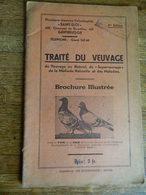 COLOMBOPHILIE:TRAITE DU VEUVAGE -48 PAGES -PHARMACIE SAINT ELOI 420 CHAUSSEE DE BRUXELLES -GENTBRUGGE - Animaux