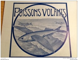 1922 POISSONS VOLANTS - POSTES ET TÉLÉGRAPHES - PÊCHE ET COMMERCE DES POULPES EN TUNISIE - Livres, BD, Revues