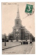 (76) 1175, Yvetot, Vieillot, L'eglise Et La Place - Yvetot