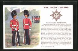 Artist's Pc Ernest Ibbetson: The Irish Guards, Regiment, Uniformen - Régiments