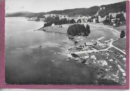 25.- EN AVION AU DESSUS DE MALBUISSON  .- Lac De Saint Point - France