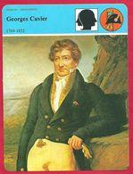 Georges Cuvier. Le Père De La Paléontologie. Occupe De Hautes Fonctions De Napoléon Ier, Puis Louis XVIII. - History
