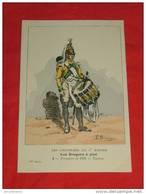 Uniformes  Empire - ( 57 Série N 2) - Les Dragons à Pied - Formation De 1805, Tambour - Illustrateur Benigni - Uniformes