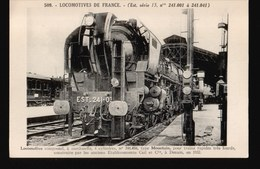 LOT620.....SELECTION 5 CPA LOCOMOTIVES DE FRANCE - Cartes Postales