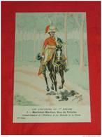 Uniformes  Empire - ( 12 Série N 8 ) - Maréchal Mortier, Duc De Trévise - Illustrateur Bucquoy - Uniformes