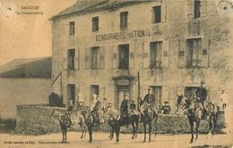 43 Saugues La Gendarmerie   Ref 1878 - Saugues