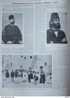Mahmoud-Pacha Etles Réfugiés Politiques Turcs - Arif-Bey - Page Original 1900 - Documentos Históricos