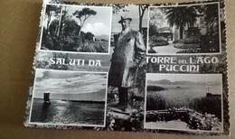 SALUTI DAL TORRE DEL LAGO PUCCINI  (644) - Saluti Da.../ Gruss Aus...