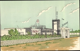 Cp Aguascalientes Mexiko, San Marcos Motor Hotel, Autos, Motel, Bar - Postcards