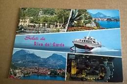 SALUTI DA RIVA DEL GARDA   (635) - Saluti Da.../ Gruss Aus...