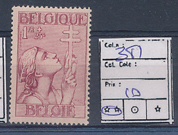 BELGIUM COB 381 MNH - Belgique