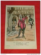 Uniformes  Empire - ( 57 Série N 6 ) - Les Dragons à Pied - Formation De 1806, Trompette - Illustrateur Benigni - Uniformes