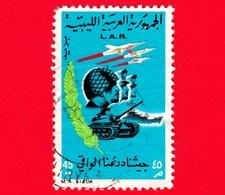 LIBIA - LAR - Usato - 1969 - Rivoluzione Del 1 Settembre - 45 - Libia