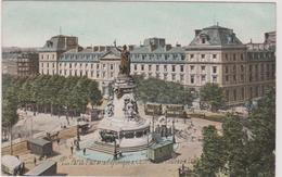 75 Paris 03 Place De La Republique  Et Caserne Du Chateau D'eau - Arrondissement: 03