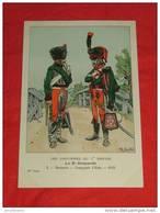 Uniformes  Empire - ( 55 Série N 5 ) - Le 8e Hussards - Hussards Compagnie D'élite  -  Illustrateur R. Knotel - Uniformes