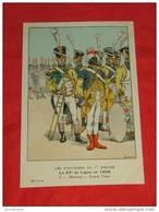 Uniformes  Empire - ( 54 Série N 5 ) - Le 67e De Ligne  - Musiciens Grande Tenue  -  Illustrateur Lapeyre - Uniformes