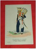 Uniformes  Empire - ( 29 Série N 4 ) - Le 65e De Ligne En Espagne - Tambour  - Illustrateur E. Fort - Uniformes