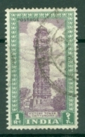 India: 1949/52   Pictorial    SG320     1R       Used - 1947-49 Dominion