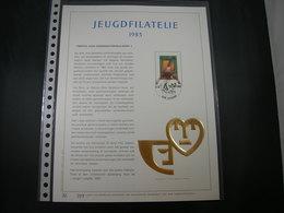 "BELG.1983 2102 Filatelic Gold Card NL. : "" JEUGDFILATELIE 1983 "" - 1981-90"