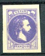 """ESPAGNE ( PROVINCES BASQUES ET NAVARRE ) : Y&T N°  2 """" FAUX  ? """" TIMBRE  NEUF  SANS  GOMME . - 1873 1. Republik"""