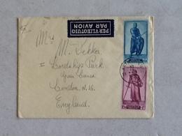 Luchtpost Van Antwerpen Naar Londen 10-IX-1946. - Covers & Documents