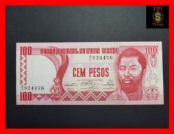 GUINEA BISSAU 100 Pesos  28.2.1983  P. 6  XF \ AU - Guinea-Bissau