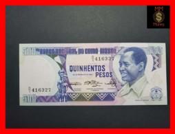 GUINEA BISSAU 500 Pesos  28.2.1983  P. 7 UNC - Guinea-Bissau