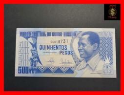 GUINEA BISSAU 500 Pesos  1.3.1990  P. 12  UNC - Guinea-Bissau