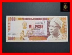 GUINEA BISSAU 1.000  1000 Pesos 1.3.1993  P. 13 B  UNC - Guinea-Bissau