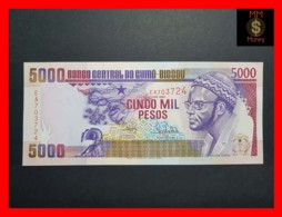 GUINEA BISSAU 5.000  5000 Pesos 1.3.1990  P. 14 A  UNC - Guinea-Bissau