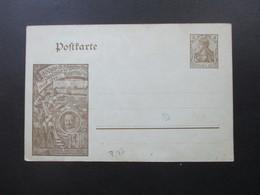 DR 1909 Privat Ganzsache PP 500 Jährige Jubelfeier Universität Leipzig Ungebraucht! - Allemagne